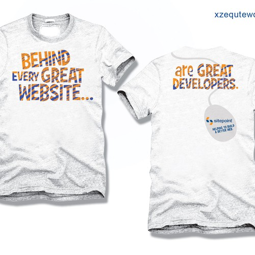 Runner-up design by XZEQUTEWORX™