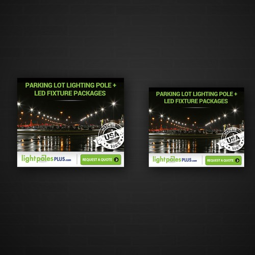 Light Pole Plus: Parking Lot Lighting Display Banner