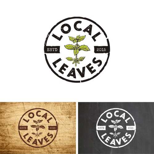 Help us push the frontiers of farming with a logo for Local Leaves! Design by JanaKah