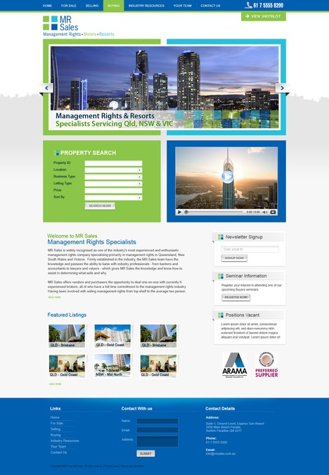 Diseño ganador de Web Gateway