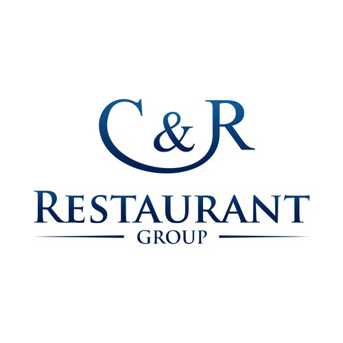 Help c r restaurant group with a new logo design