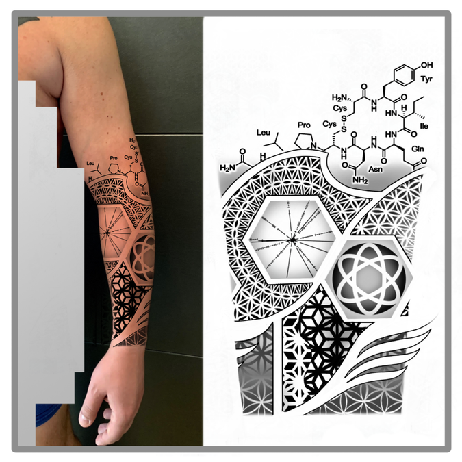 Make A Geometric Or Nerdy Forearm Tattoo Tattoo Contest