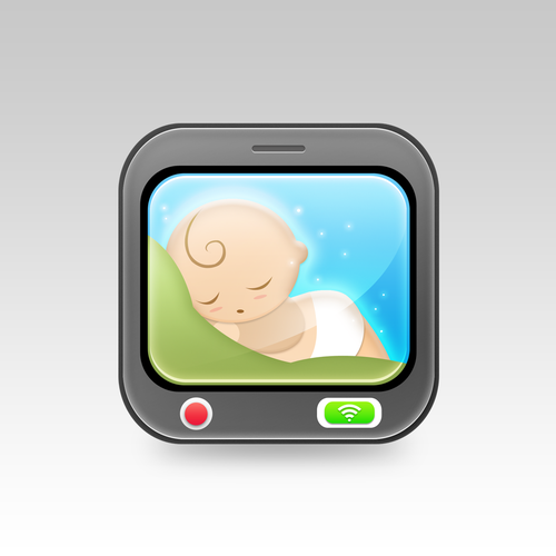 Create app icon for baby monitor iphone ipad app icon or for Designing an app for iphone