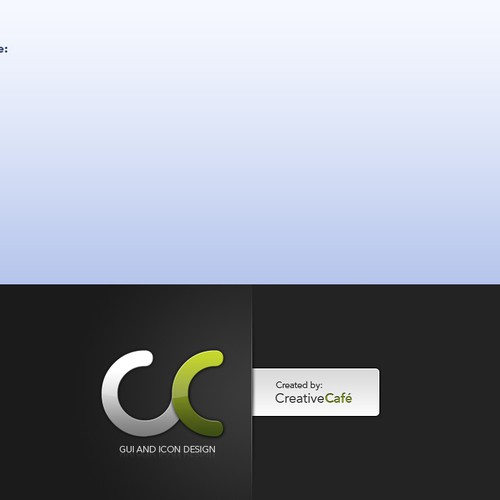 Diseño finalista de CreativeCafe