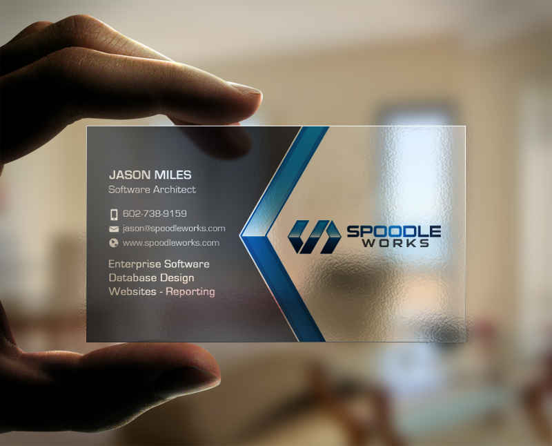 Spoodleworks business card refinement concurso carto de visita spoodleworks business card refinement reheart