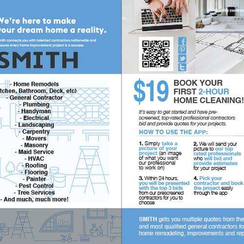 Create an Inspiring Home Improvement Flyer | Postcard, flyer