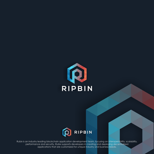 Runner-up design by R GRAPHIC