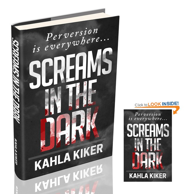 Book Cover Competition : Screams in the dark book cover needed contest