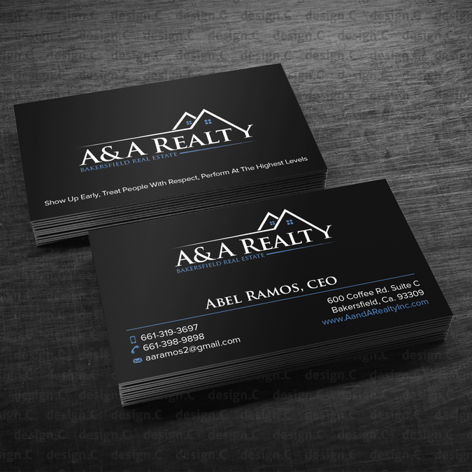Realtor Looking For A Bad A Business Card Business Card Contest