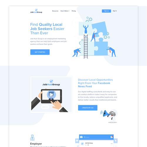 Runner-up design by µDesignLab