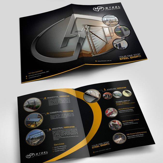 brochure công ty sản xuất