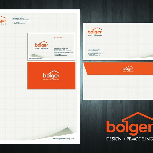 Runner-up design by Designbe