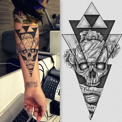 Hip - Dark - Sketch Tattoo Design Needed! Design by Giulio Rossi