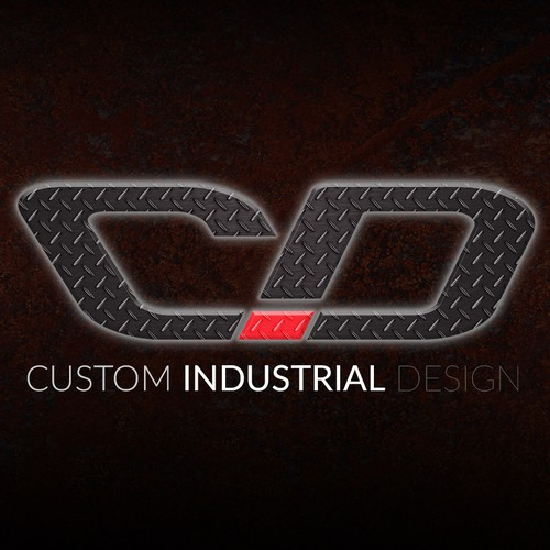 Custom industrial designs logo business card designs for Industrial design business card