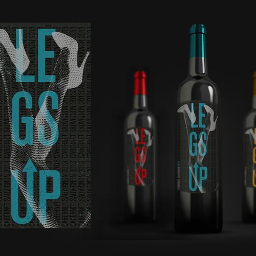 Legs Up 2013 Vintage Wine Label Design by vepar