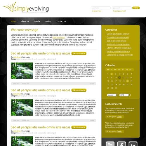 Zweitplatziertes Design von WebFlexStudio