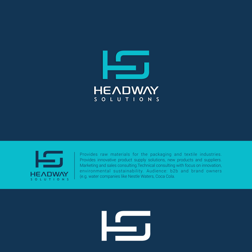 A logo for innovative industry professional - Headway Solutions