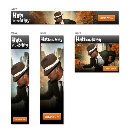 Banner Ad For Hats In The Belfry Banner Ad Contest 99designs