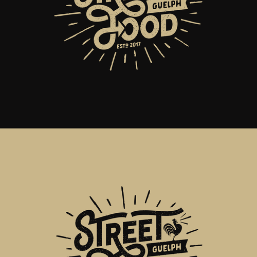 Create a trendy, vintage-inspired logo for a new Food Truck! Design by GURU23
