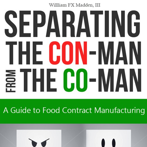 Book Cover Illustration Contract : Cover for business book about food contract manufacturing