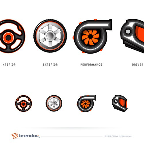 Diseño finalista de Brendox