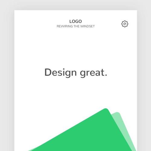 Runner-up design by HH Art