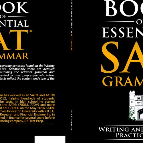 RK Test Prep Book of Essential SAT/® Grammar Writing and Language Practice Tests