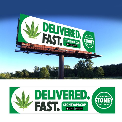 Stoney billboard | Signage contest | 99designs