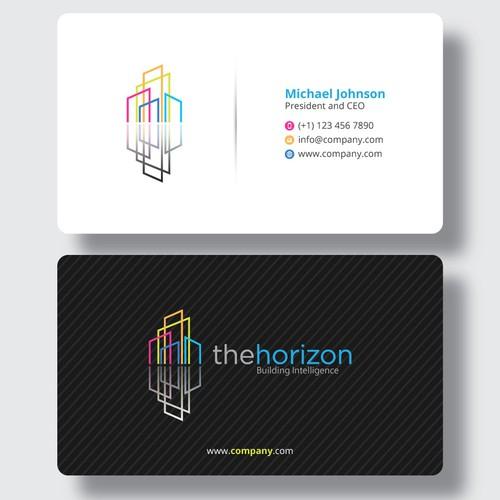 Business card letterhead design for boutique housing for Boutique design consultancy