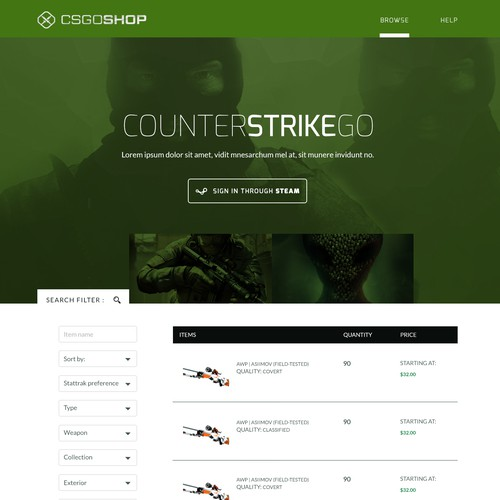 Runner-up design by Creator90