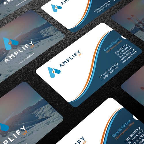 Design a business card for a canadian online accounting firm runner up design by sfdesign reheart Images