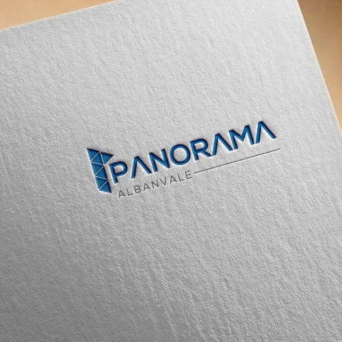 Panoramic Property Development : Design a luxury unique logo for panorama albanvale