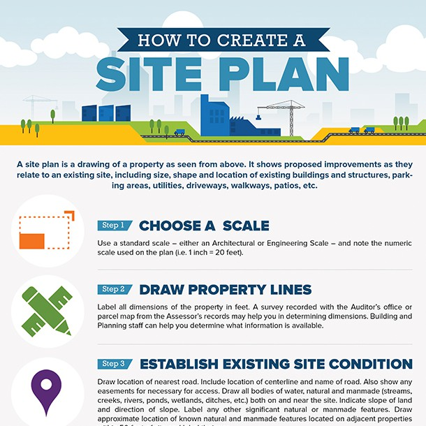 Sample Site Plan Illustration Or Graphics Contest