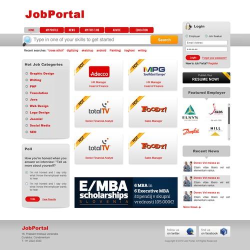 DesignMyTemplate.comさんが制作した最終選考作品