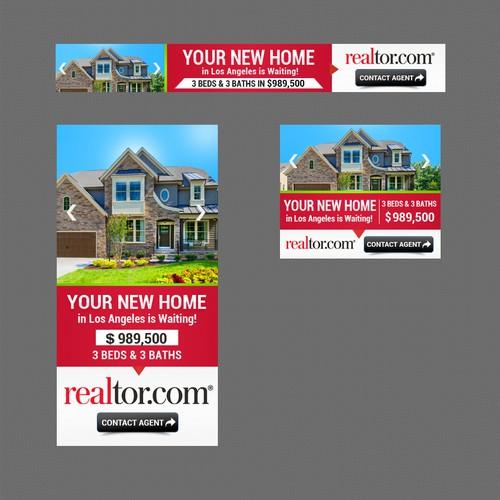Banner Ads For National Real Estate Website Banner Ad Contest 99designs