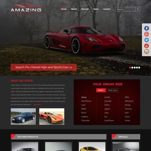 Runner-up design by webserviceslab