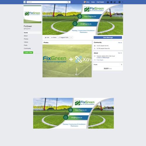 Runner-up design by Webinfi