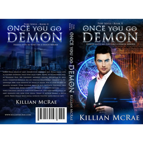 Paranormal Romance Series - Second book Design by LMess