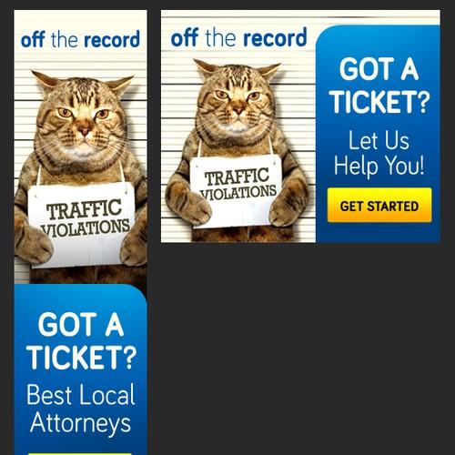 Traffic Ticket Startup Needs Kickass Banner Ads | Banner ad