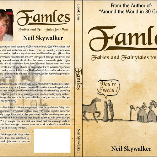 New book cover for book with fairytales for men sketch attached runner up design by oilcolor fandeluxe Images