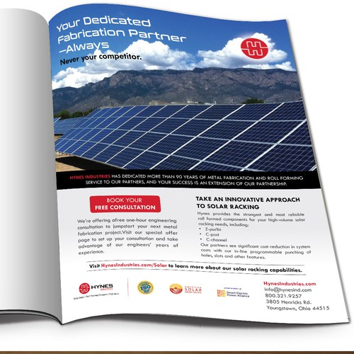 Design A Unique Solar Print Ad That Will Stand Out