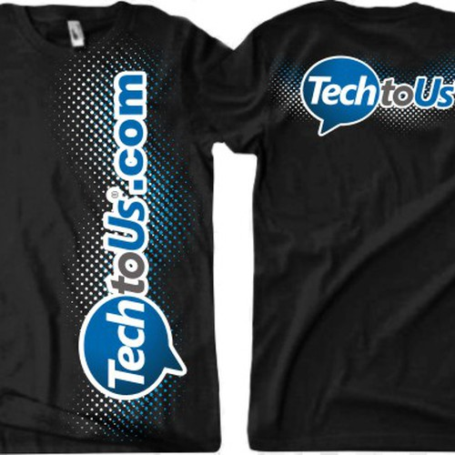 Cool, unique t-shirt design for a cool tech support company ...