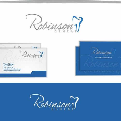logo for Robinson Dental Design por Ksatria99