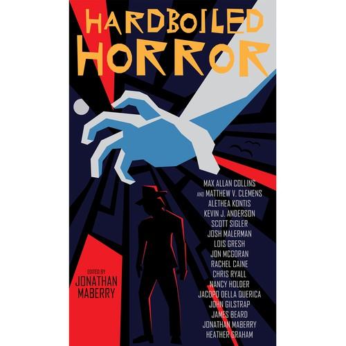Old School Book Cover ~ Old school horror noir detecive book cover