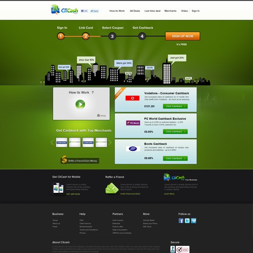 Runner-up design by jeetchauhan