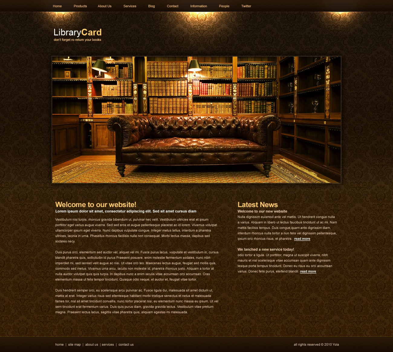 Web Page Design by sheeze