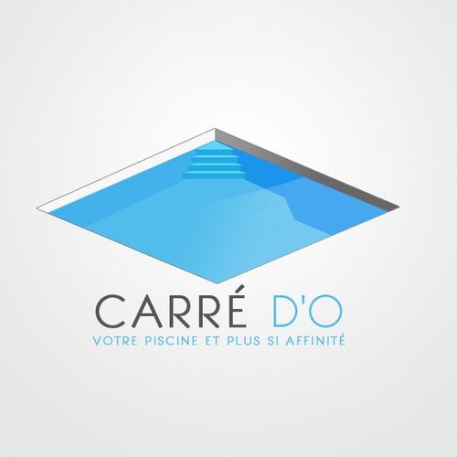 Logo vendeur et installateur de piscines concours for Vendeur de piscine