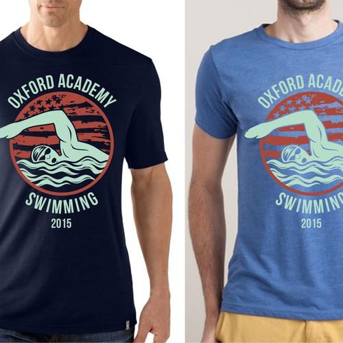 5689de214 High School Swim Team TShirt | T-shirt contest
