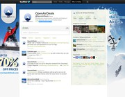 Twitter background design by Ixtlahuacr