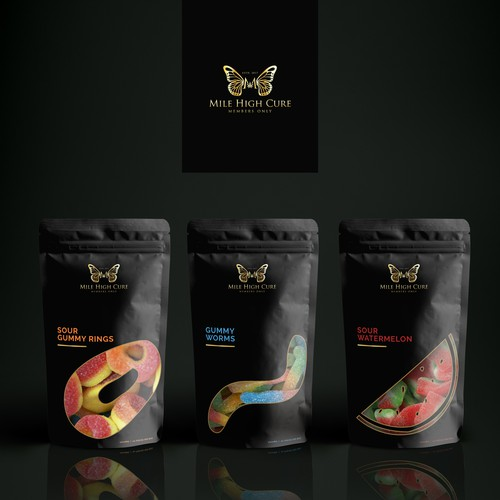 Luxurious cbd candies packaging design | Product packaging contest | 99designs